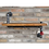 Thumbnail: Industrial Style Wooden Display Shelf
