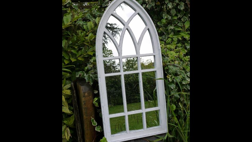 Garden Mirror Classic Design in Wood