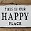 Thumbnail: Happy Place iron sign 4875