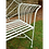 Thumbnail: Vintage Sunrise bench pale green