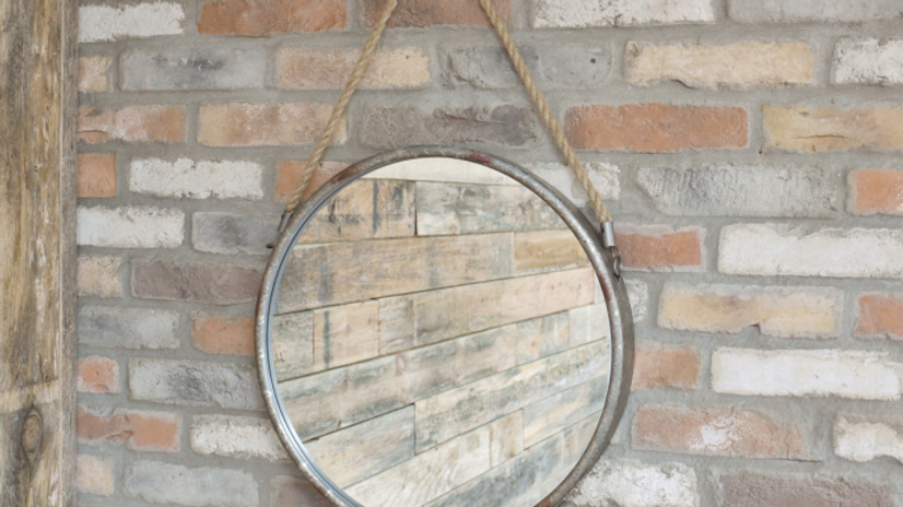 Industrial rope mirror 4017
