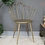 Thumbnail: Gold Accent Chair