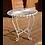 Thumbnail: White Metal Side Table