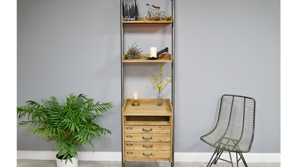 Ladder style home office  unit