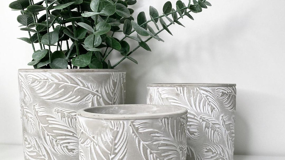 Feather Planter by Parlane