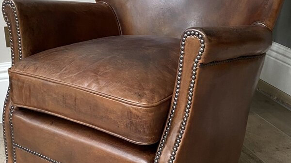 Vintage Leather Easy Chair