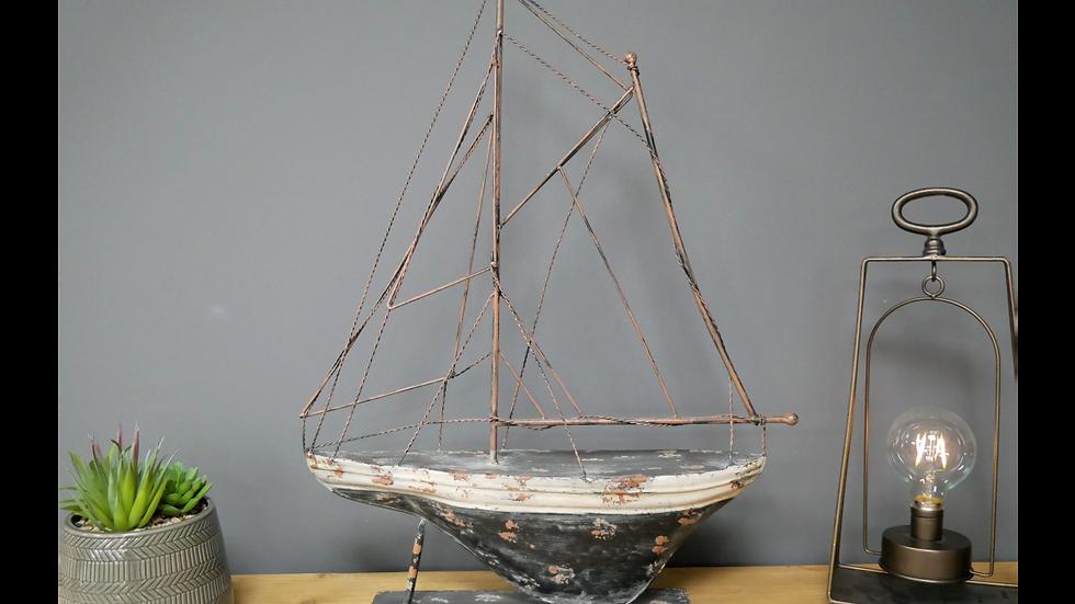 Nostalgic Metal boat 6730
