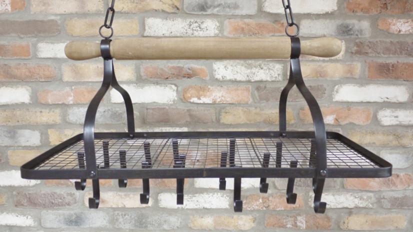 Farm house style Display Rack