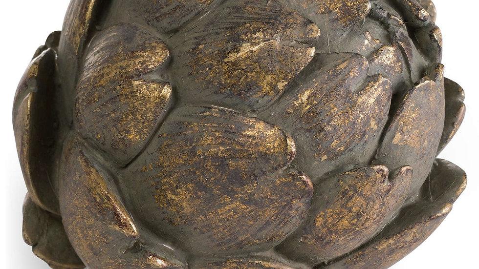 Antique Bronze Artichoke Ornament  Decor