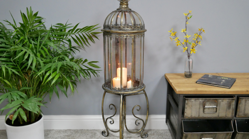Antique Lantern with stand
