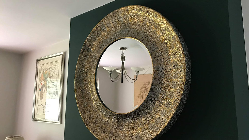 Filigree Gilt Mirror
