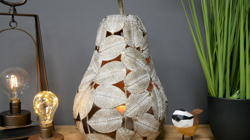 Decorative Pear design candle  holder