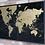 Thumbnail: Map of World Wall Black 6632