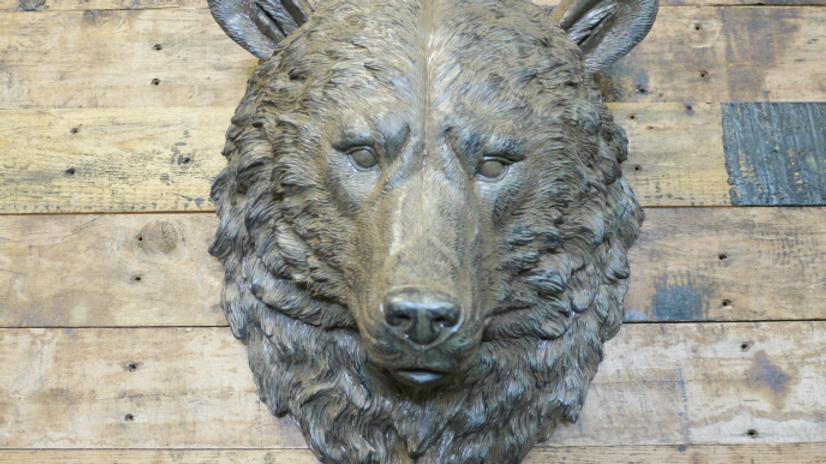 Wall Bear Head