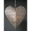 Thumbnail: Antiqued tealight Hanging Heart