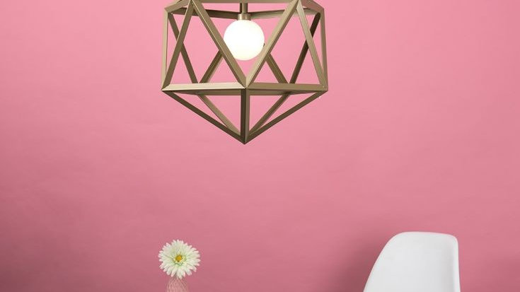 Cubonic ceiling Light