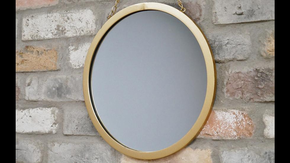 Gold Chain Mirror