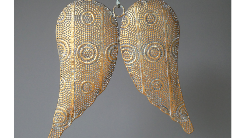 Wings in Gold Filigree finish
