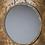 Thumbnail: Curved Metal Mirror in Dark Gold Finish