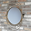 Thumbnail: Swivel Halo Gold Mirror