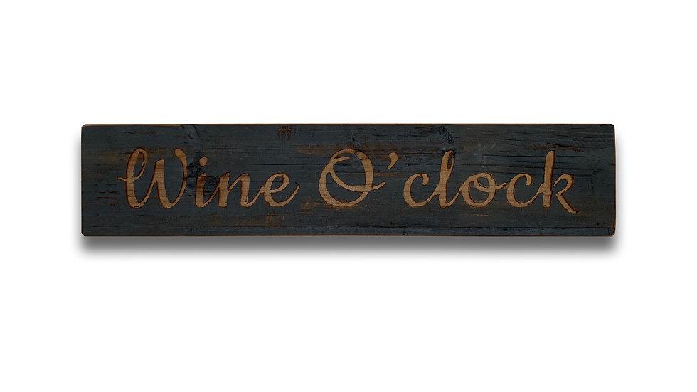 Wine O Clock Sign