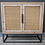 Thumbnail: Rattan and Metal Cabinet