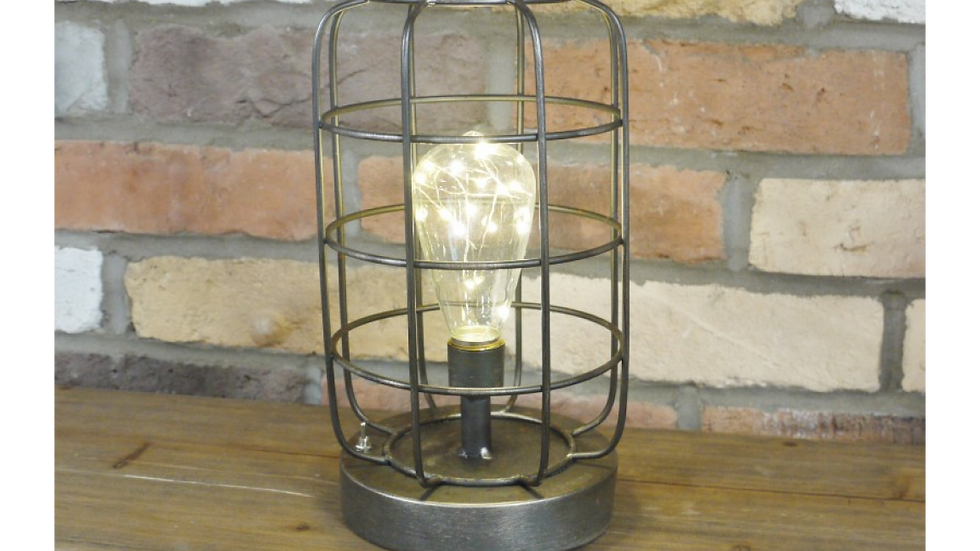 Iconic Industrial  Cage Battery lamp  5012