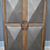 Thumbnail: Wood trimmed Metal Cabinet