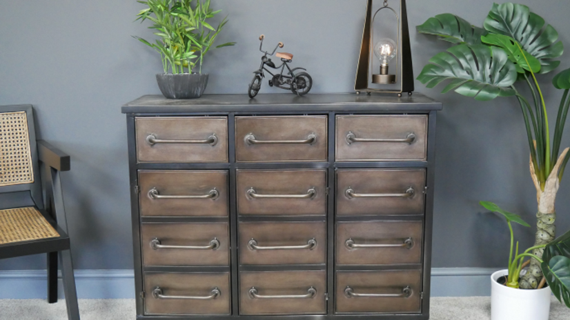 Industrial Chest style Cabinet