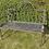 Thumbnail: Metal bench bronze