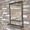 Thumbnail: Metal Industrial Mirror with shelf