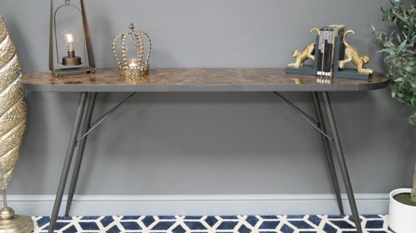 Marble Console , Side Table