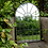 Thumbnail: Arched Metal Garden Mirror 4207