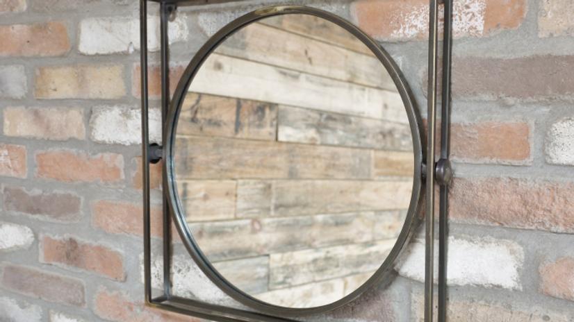 Industrial Tilting Mirror