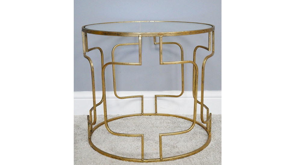 Glass Side Table