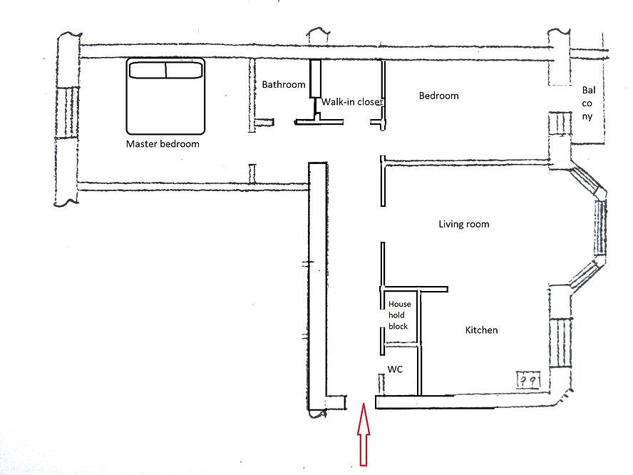 Аренда 3 комнатной квартиры в новом элитном доме ул. Введенская 29/58. 5й этаж