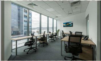 Аренда отдельного офисного блока на 50 чел. в коворкинге в Silver Breeze