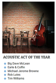 Acoustic Act Of The Year