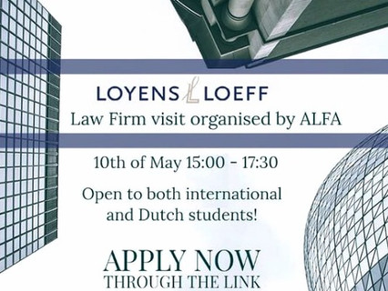 Law Firm visit at Loyens & Loeff