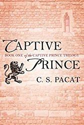 captive prince cover, lion icon, brick background