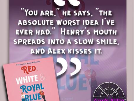 LGBT+ Book Rec: Red, White & Royal Blue