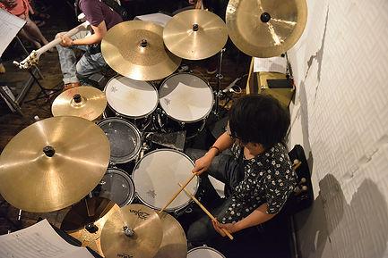 杵渕 ドラム