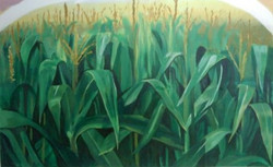 Corn Field Mural Day 3a