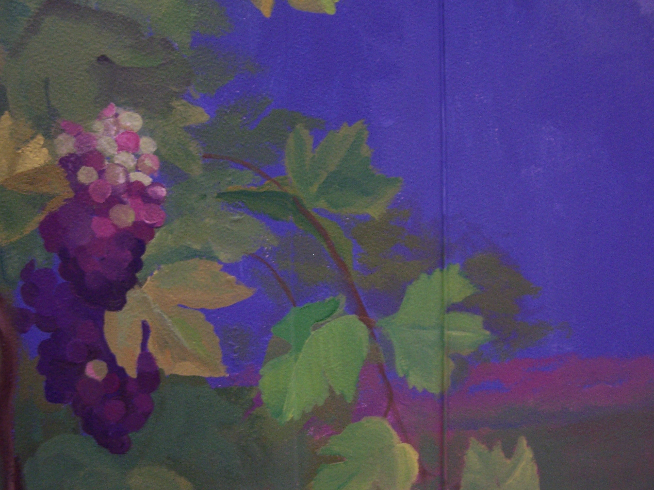 Mural - Grapes too