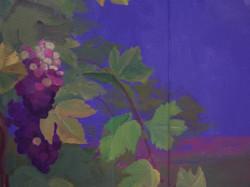 Mural - Grapes too