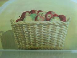Mural Detail Apples 3