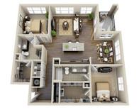 Grundrisse der Wohnung Referenzen 5