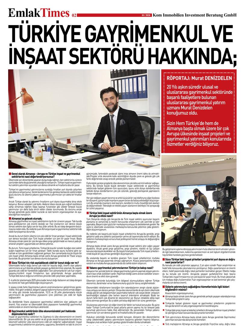 Zeitungsartikel KOM Immobilien 2