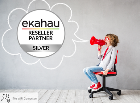 The WiFi Connection are now a Silver Ekahau Partner!