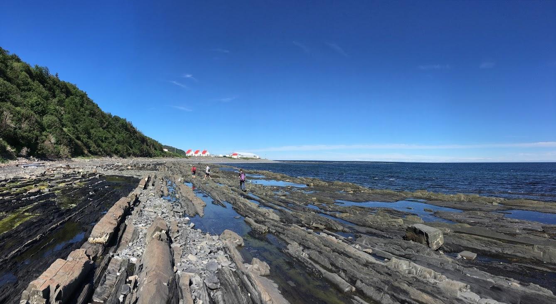 Vue sur la Longue-Pointe, Petite-Vallée